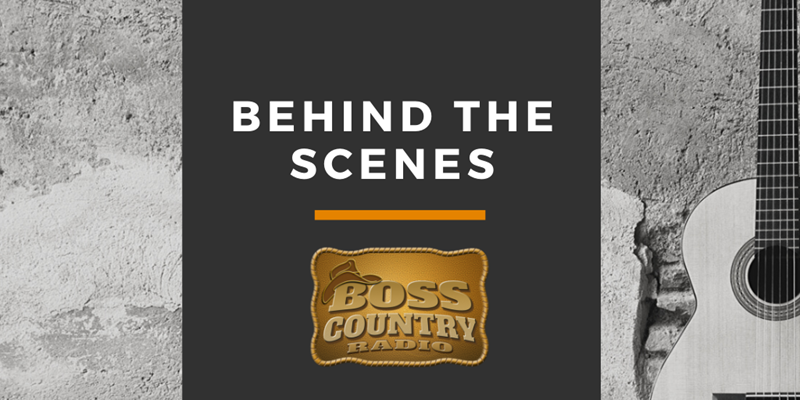 Behind the Scenes at Boss Country Radio