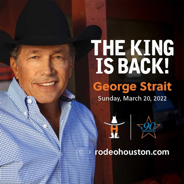 George Strait Houston Stock Show and Rodeo promo